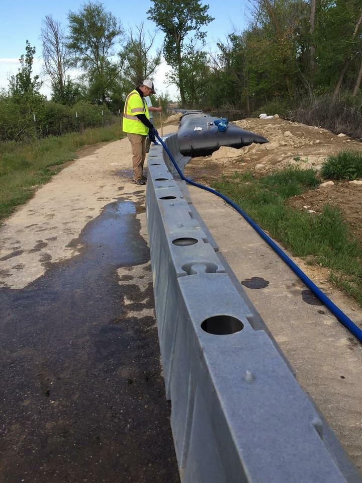 Ada County prepares for flooding next week. (photos courtesy of Ada County)