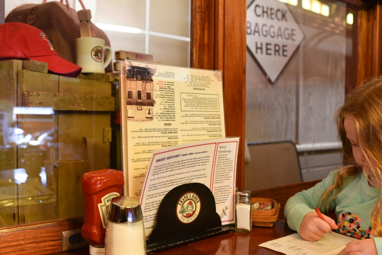 Breakfast can't be beat at Frank's Diner in a converted railroad car and the wide selection of benedicts. (Image: Rebecca Mongrain/Seattle Refined)