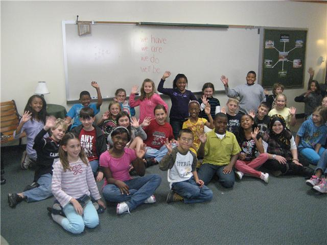 Bookman Road Elementary Fourth Graders