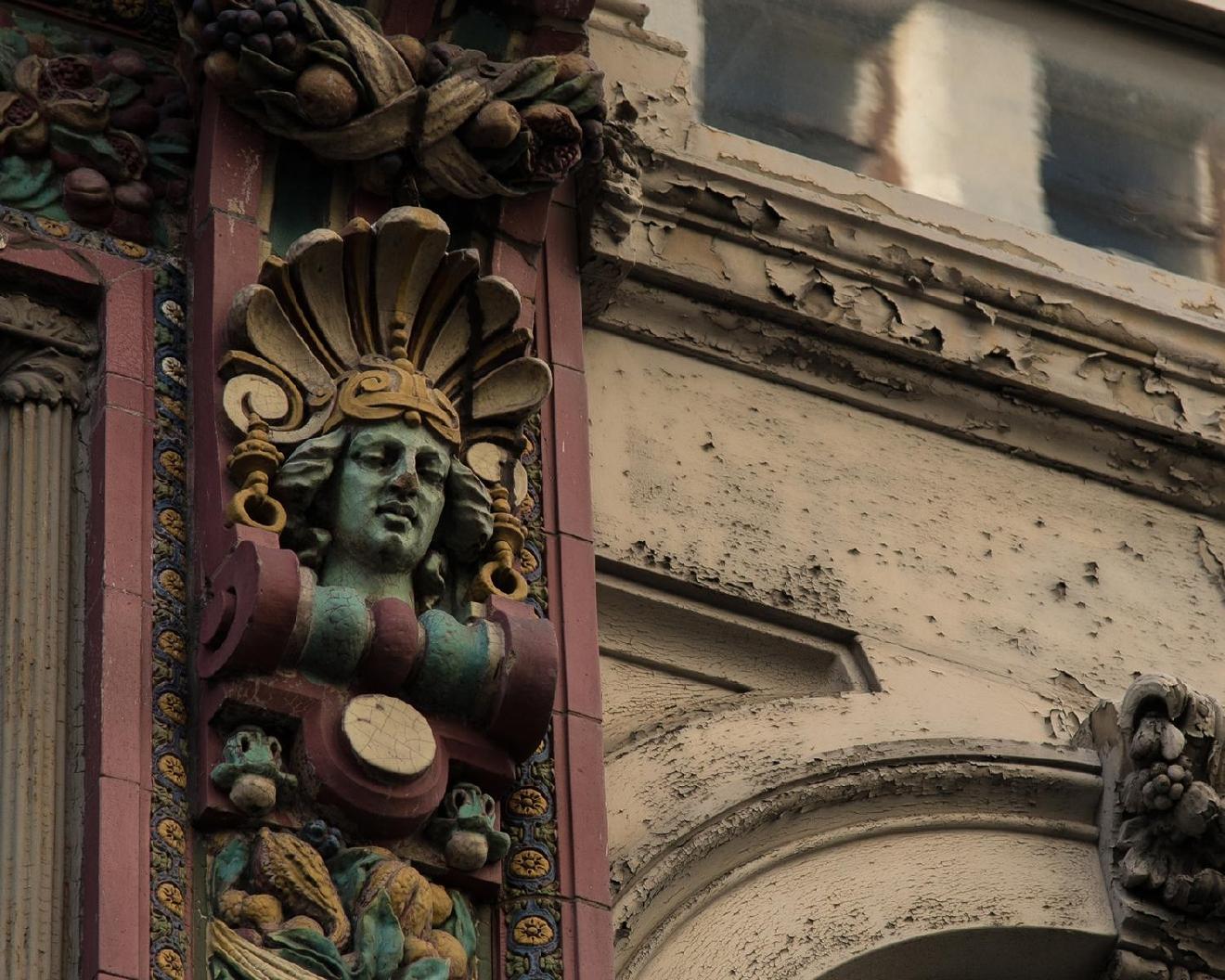 The Sculpted Faces Of Cincy S Places Cincinnati Refined