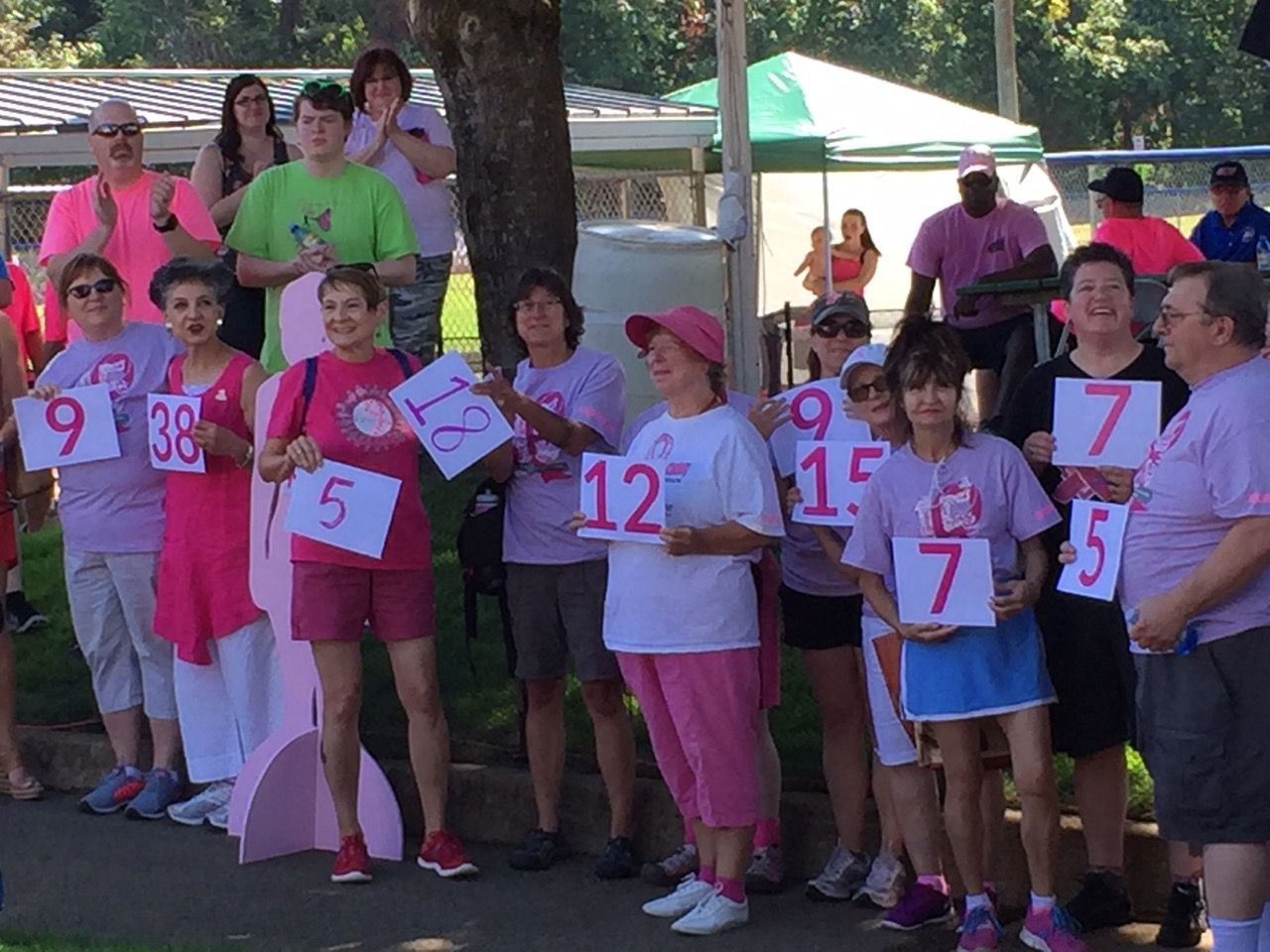 Approximately 63 people will be diagnosed with breast cancer this week in Oregon, according to the American Cancer Society.  That is why 10 teams of softball players from Lane County travel to Salem one weekend each summer to join a movement that is taking a swing at cancer.