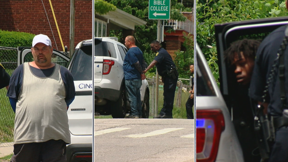 Police almost catch Ft  Mitchell bank robbery suspect during