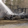Separate fires leave Denmark woman without home, job