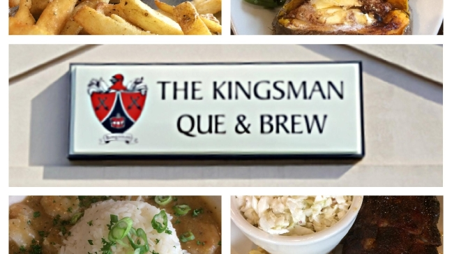 Food Friday: Kingsman Que & Brew serving up everything from rib-eye's to burgers
