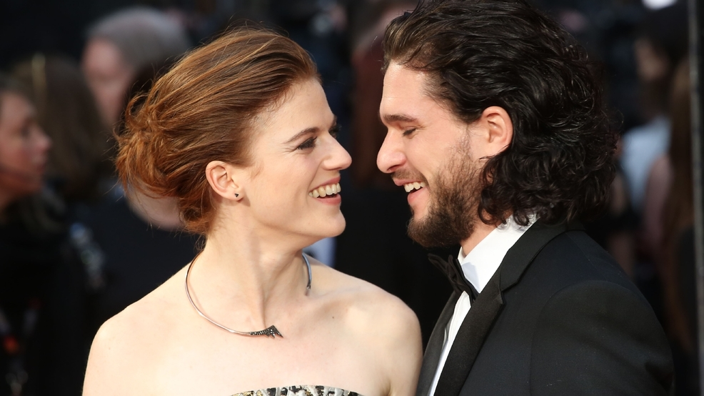 Rose Leslie and Kit Harrington have a FaceTime romance