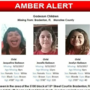 Amber Alert issued for 4 children