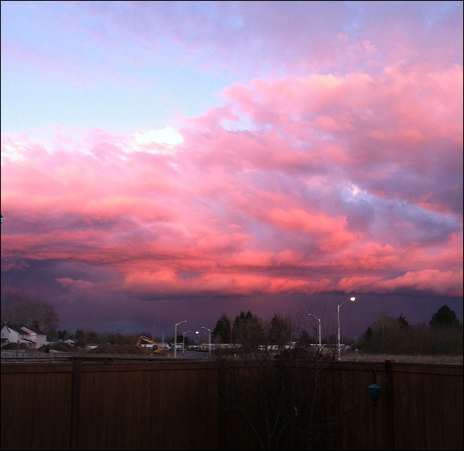 Sky over Woodburn (YouNews contributor fale503)