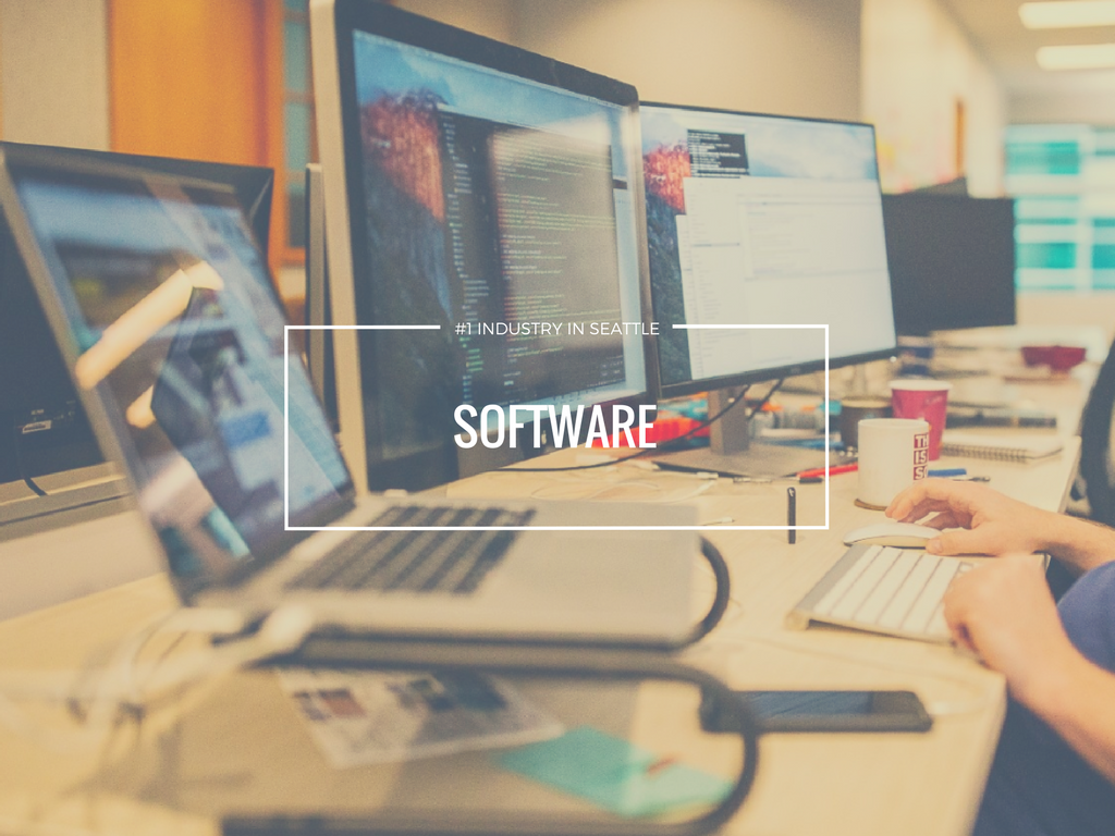 Fact #3. Software For the Win!  This isn't too surprising considering the tech industry in these neck of the woods. The number one industry in Seattle is in Software according to Visit Seattle.
