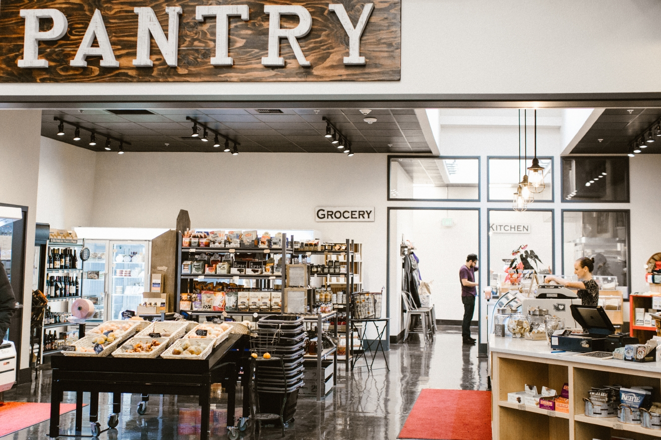 The Pantry at the Market is your one stop shop for local and sustainable foods. Stop in for a snack, or grab items for home. When you stop by, ask for their cooking class schedule, from kombucha to tamales to pasta, they've got you covered. (PHOTO: OLYSOCIAL and Poppi Photography).