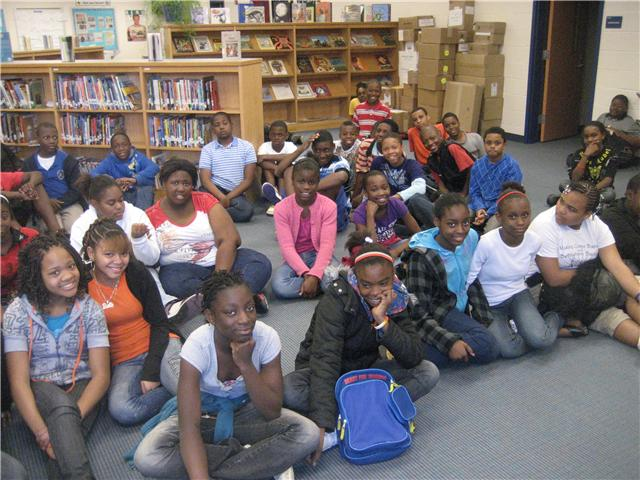 W.A. Perry Middle School Sixth Graders