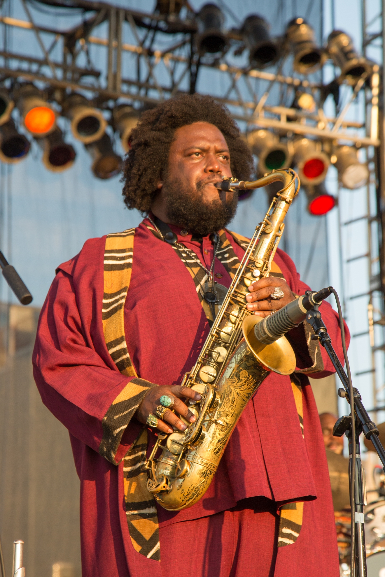 Kamasi Washington / Image: Catherine Viox