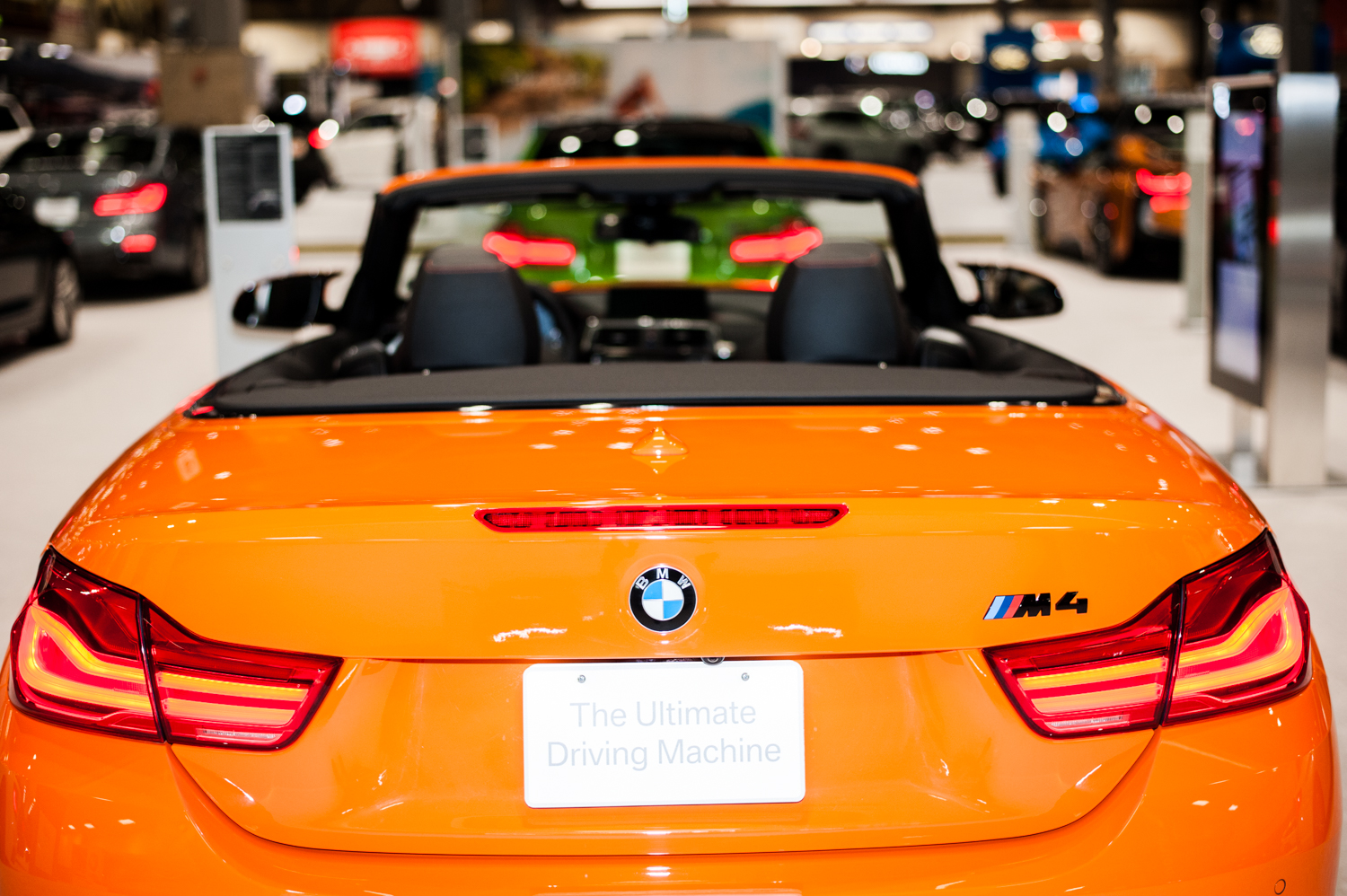 BMW M4 Performance - $67,400+. The Seattle International Auto Show{ }showcases all that's new in cars, trucks, exotics, super cars, electrics and all the latest models from the world's automobile makers. We scoured the place for the most expensive vehicles we could find - and aye caramba - some of these are literally the cars of our dreams. The Auto Show runs Nov. 9-12, 2018 at CenturyLink Field Event Center. (Image: Elizabeth Crook / Seattle Refined)