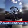 Multiple people injured in NY Darien Lake ride mishap
