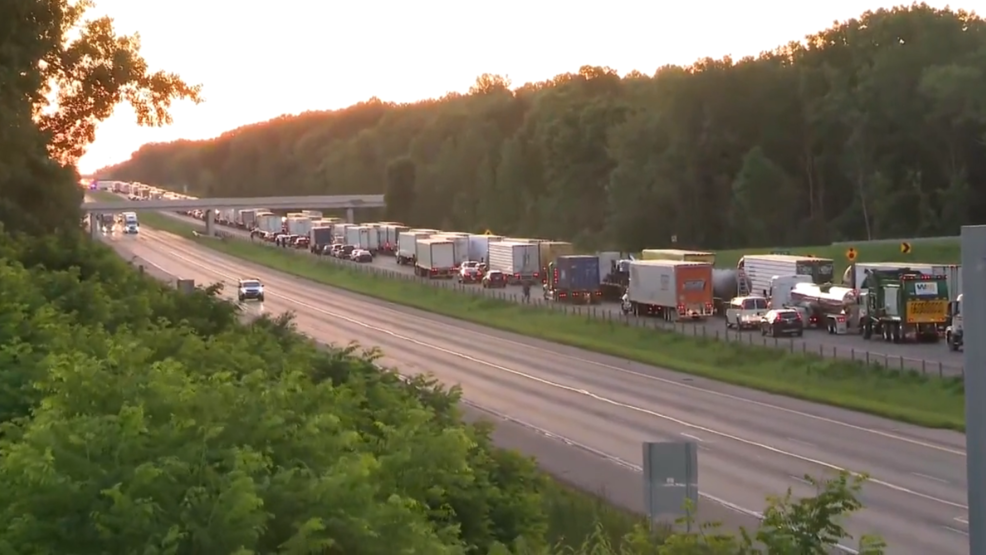 UPDATE: Traffic is moving again on I-94 after wrong way crash at