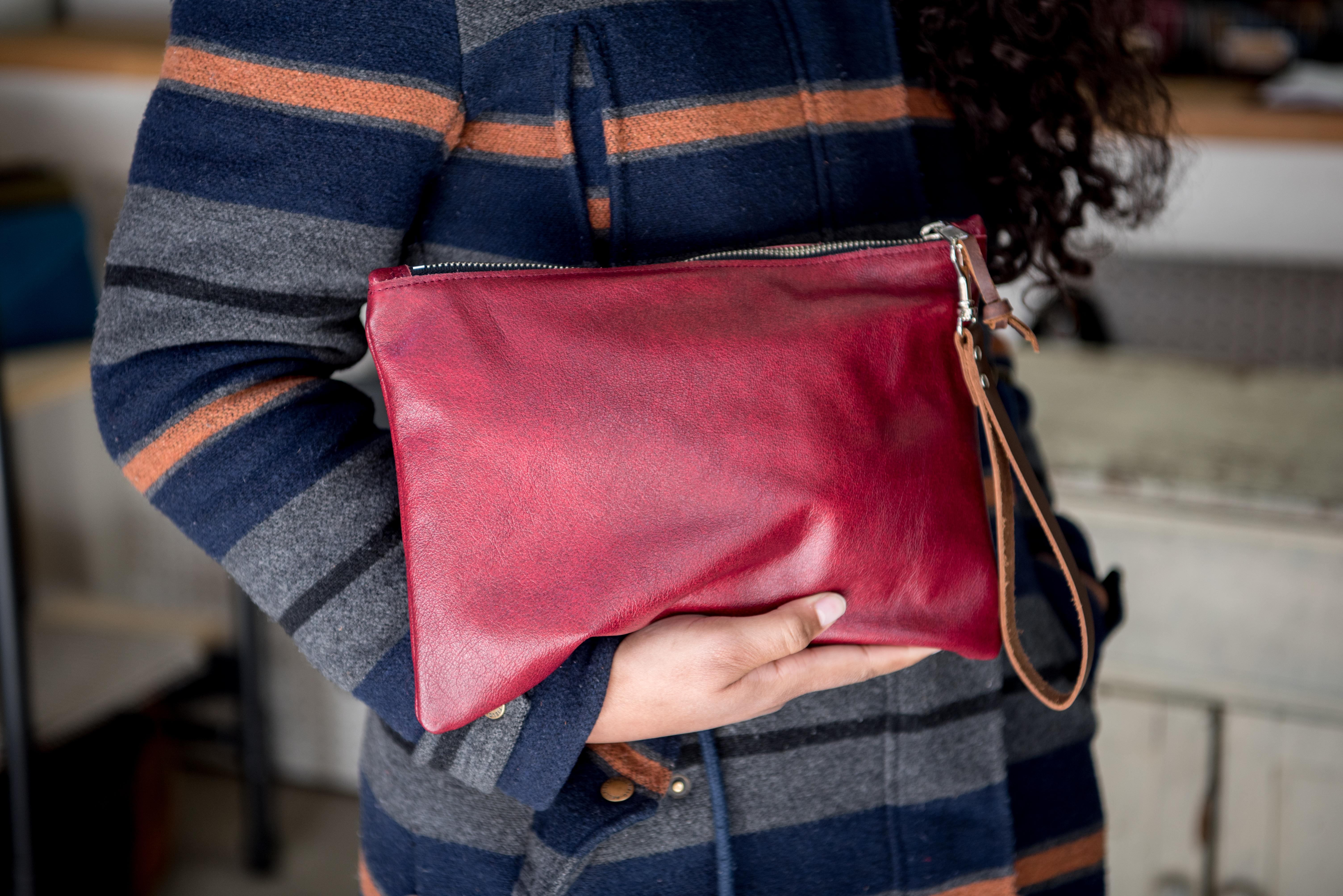 This is another brand that I have Crafty Bastards to thank for my obsession! Just this past weekend, I found myself coming back to the stall again and again, and reminding myself that I was supposed to be holiday shopping for others not myself. But the gorgeous hand-stitched bags are just too dreamy to pass up. And did I mention its a woman-run, woman-owned business? #ladyboss! (Image: Courtesy StickRivet)