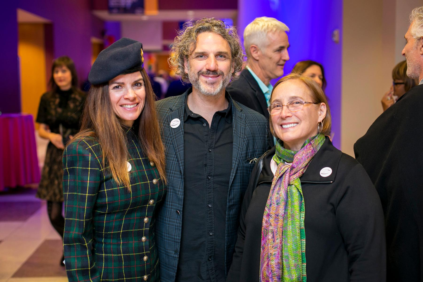 Clara Harkavy, Matt Kotlarczyk, and Jessica Baron / Image: Mike Bresnen Photography // Published: 1.20.18
