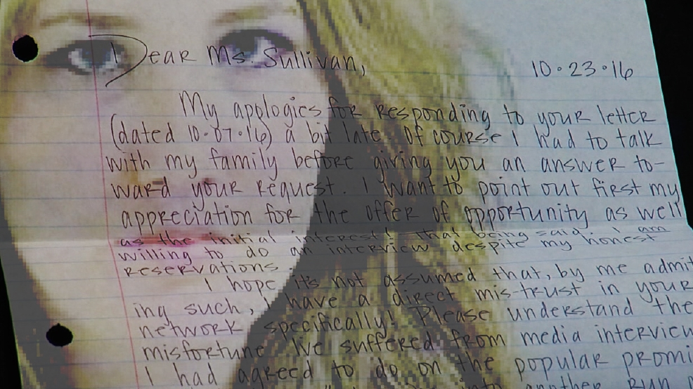 Letter from Amber Hilberling arrives at KTUL days after her death