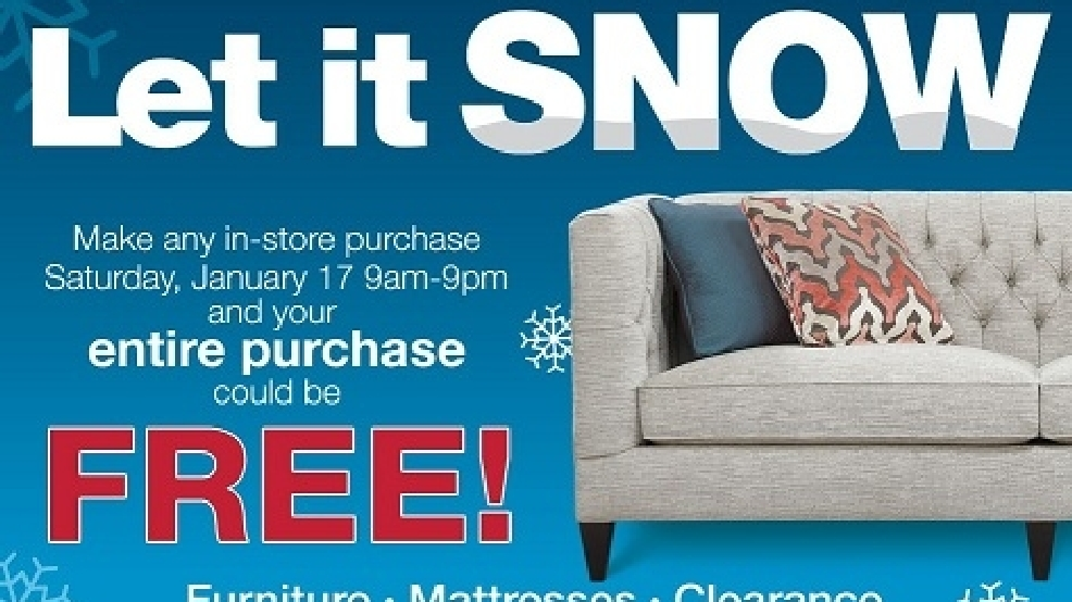 Superieur Toledo Furniture Store Takes Gamble: If It Snows, You Win