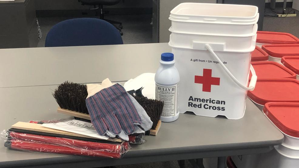 Red Cross offering free cleanup kits to Green Bay residents affected by flooding