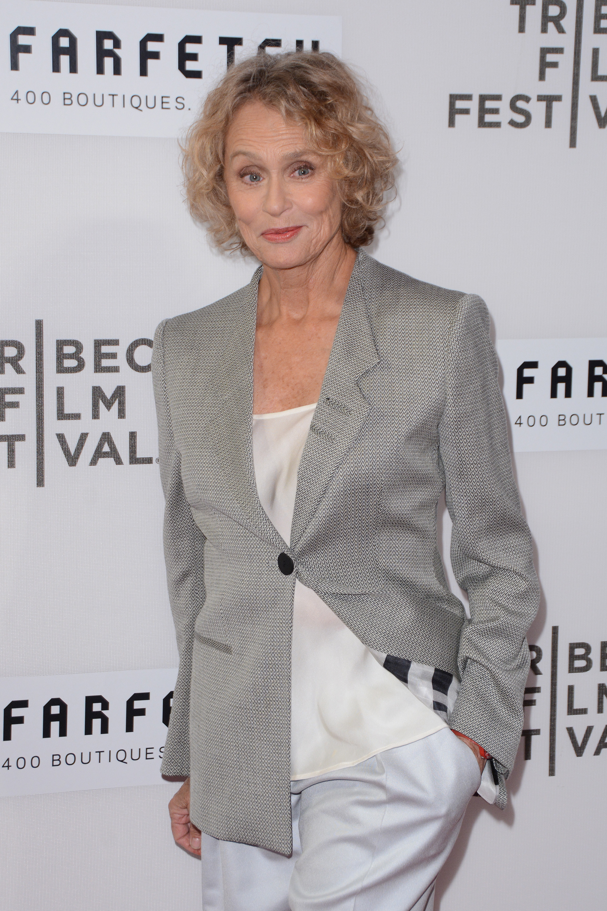 "2016 Tribeca Film Festival  - ""The First Monday In May"" World Premiere  - Red Carpet Arrivals                                    Featuring: Lauren Hutton                  Where: New York, New York, United States                  When: 13 Apr 2016                  Credit: Ivan Nikolov/WENN.com"