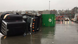 Hwy. 509 reopens in Tacoma after semi rig rollover cleared