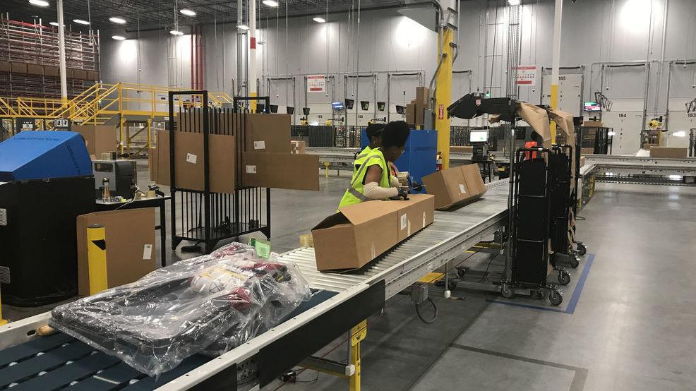 Macon Amazon fulfillment center officially opens
