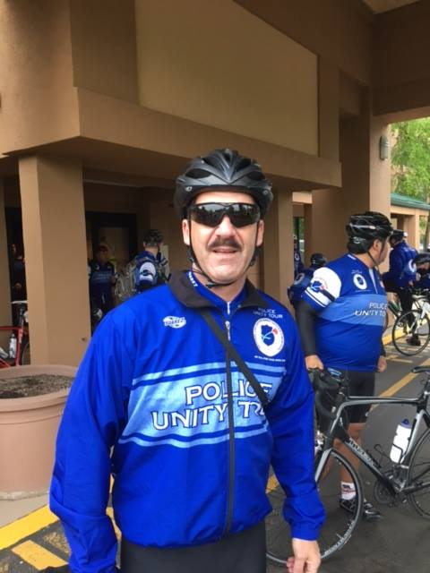 Lt. John Dilibert, is just one of more than 2,300 officers biking in the Police Unity Tour riding from News Jersey to Washington DC to raise money for the National Law Enforcement Officers Memorial Fund. Dilibert is representing Ada County Sheriff's Office in the 21st annual Police Unity Tour. (Photos courtesy of Ada County Sheriff's Office)