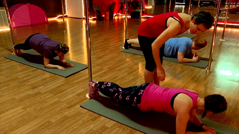 Workout trend uses poles to take Pilates to another level