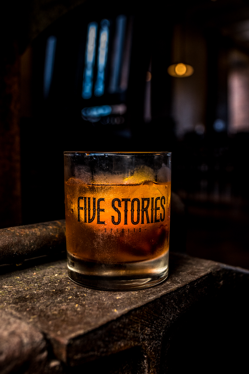 Old Fashioned: a pre-Prohibition style recipe that features three oz. of bourbon with the garnish on top of the drink, not muddled in, and served over ice / Image: Catherine Viox // Published: 7.16.20