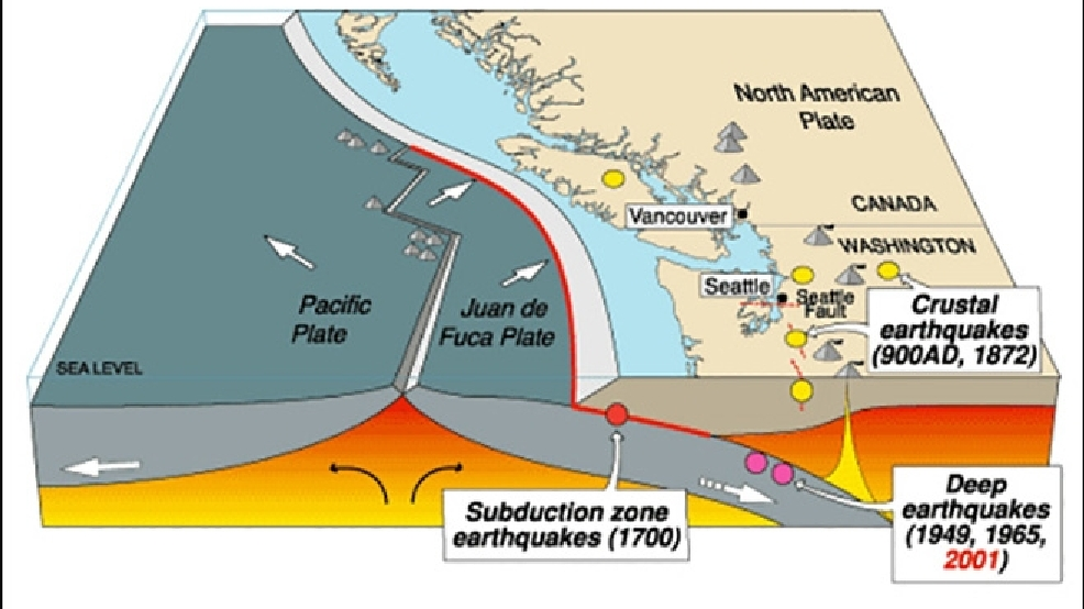 Eerie quiet at NW fault where 'big one' may shake