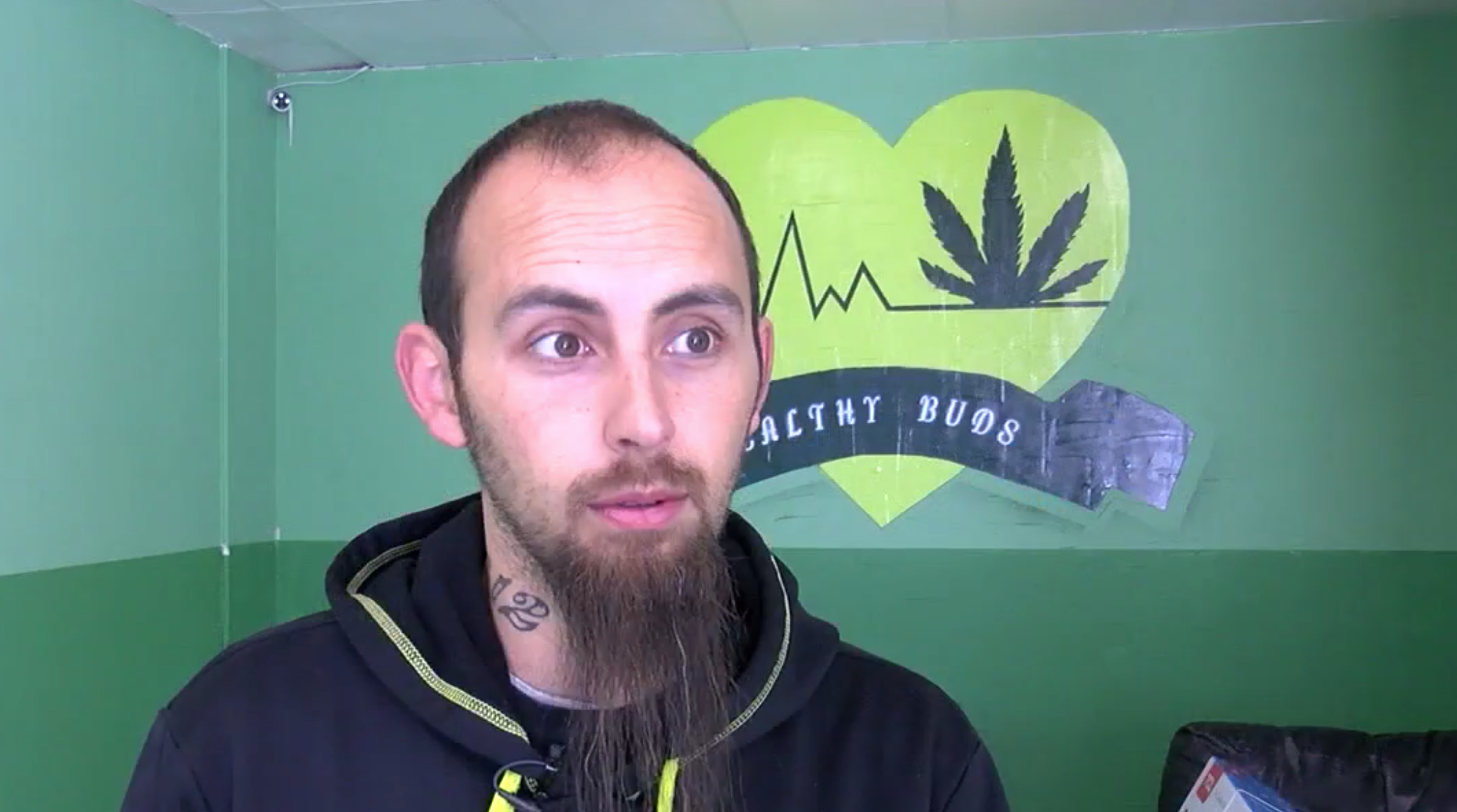 Michael Monroe isn't making money on his dispensary, but he doesn't want to close because he wants to help people. (Photo: KTUL){ }