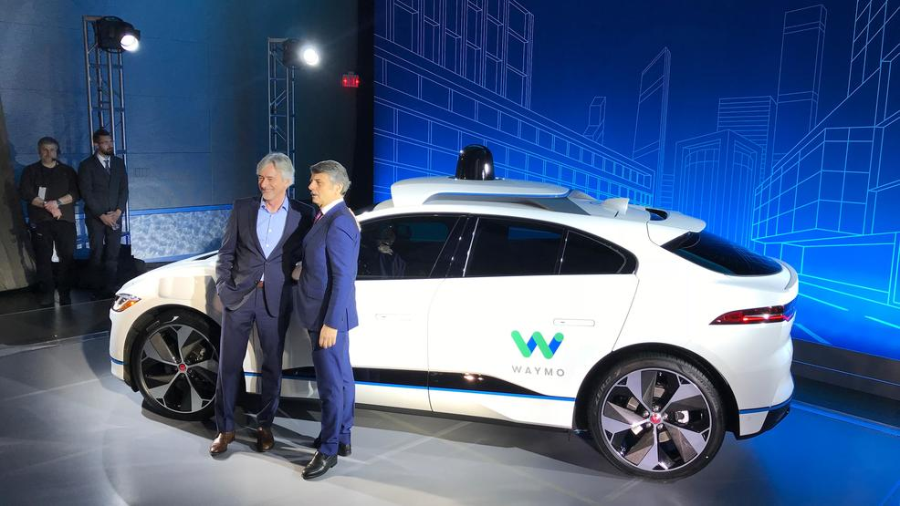 Waymo Jaguar Land Rover Create First All Electric Self