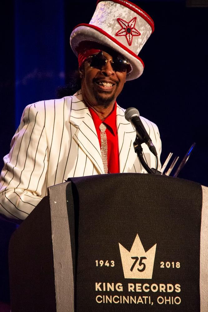 Bootsy Collins from King Records' 7th anniversary party / Image: Dr. Richard Sanders // Published: 9.2.18