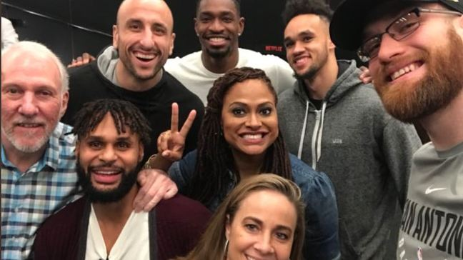 LOOK: Spurs get private screening of documentary '13TH'