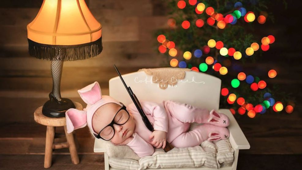 Baby Ralphie Photo Born Out Of Tribute To A Christmas Story Wztv