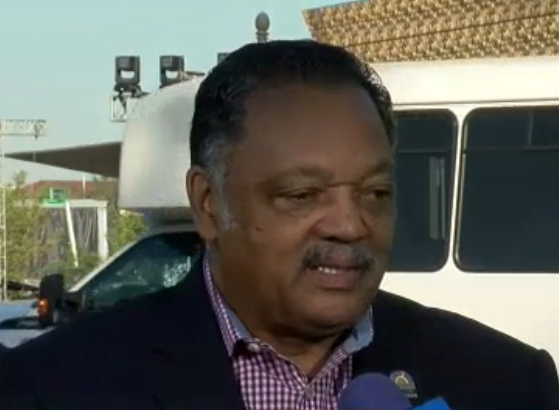 Civil rights icon Rev. Jesse L. Jackson (Photo: ABC7)