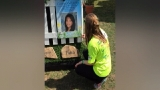 Tribute to Courtney Sterling at organ donation gift of life event