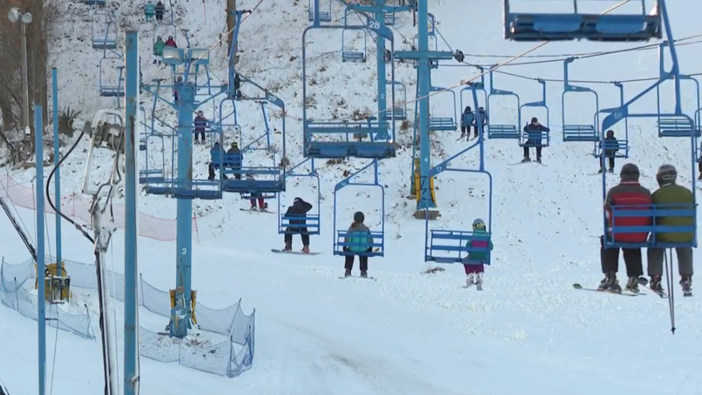 Timber Ridge Ski Area Opens For The Season After Winter Weather