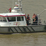 Search for a wanted man who jumped into the Ohio River
