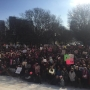 Large turnout at RI State House for Women's Solidarity Rally