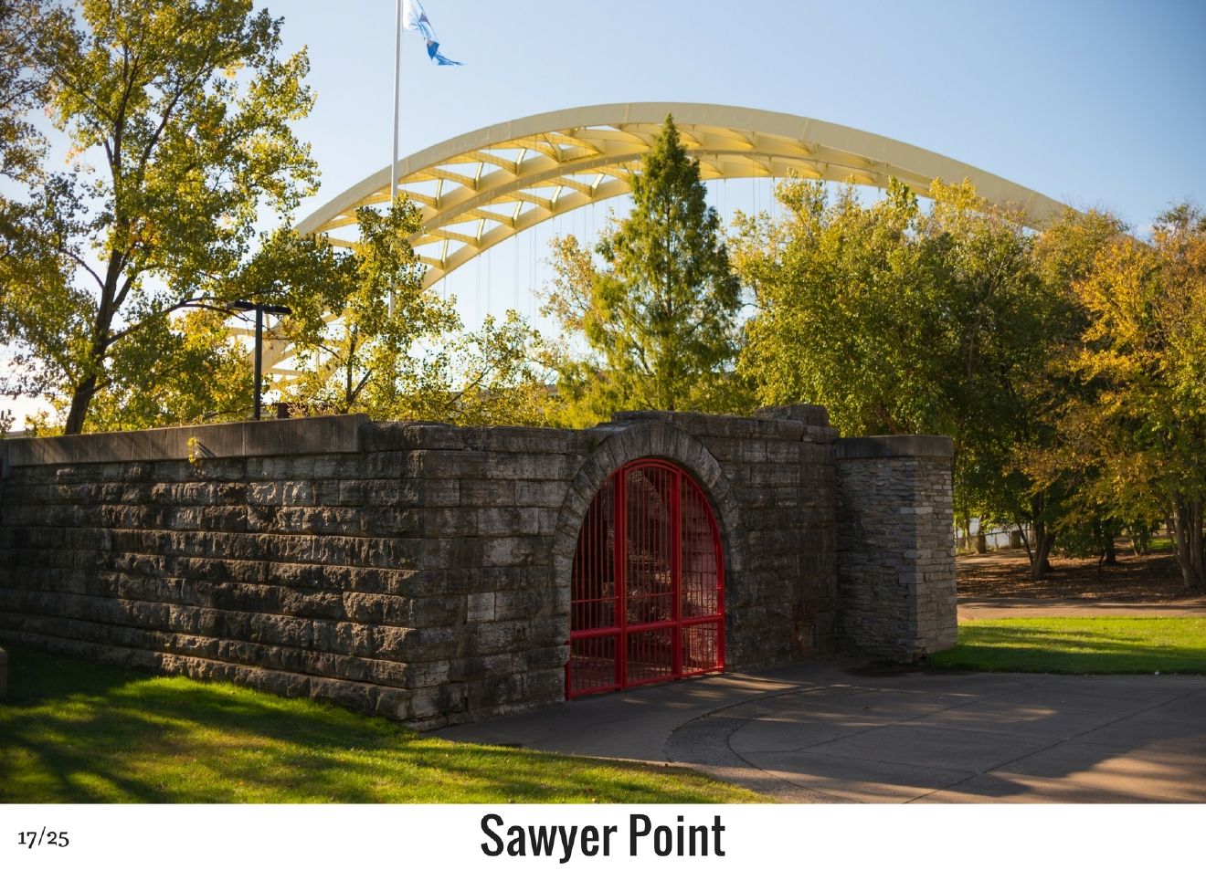 WHAT: Sawyer Point / WHERE: 705 E Pete Rose Way, Downtown Cincinnati 45202 / Image: Phil Armstrong, Cincinnati Refined / Published: 10.27.16