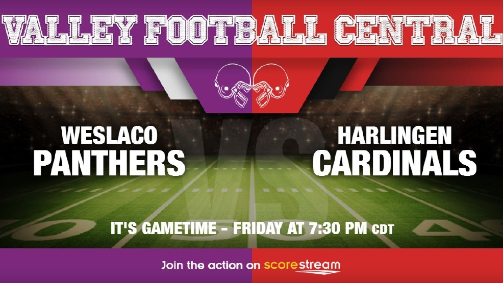 Listen Live: Weslaco Panthers vs. Harlingen Cardinals