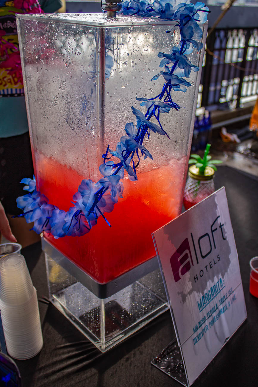 Despite intermittent downpours, Margarita Madness celebrated its seventh year with—what else—margaritas on the Purple People Bridge on Thursday, May 23. The event was presented by Cincinnati CityBeat with Milagro Tequila. Guests enjoyed 10 drink tickets, food samples, and a seashell token to place their vote on their favorite margarita. Over a dozen local restaurants served delicious bites throughout the evening. / Image: Katie Robinson, Cincinnati Refined // Published: 5.24.19