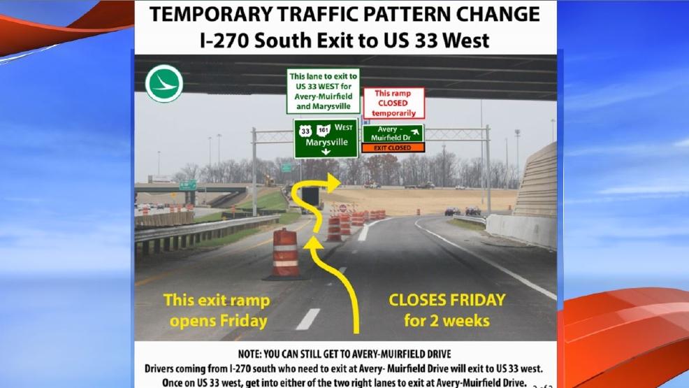 Traffic changes in northwest Columbus   WSYX