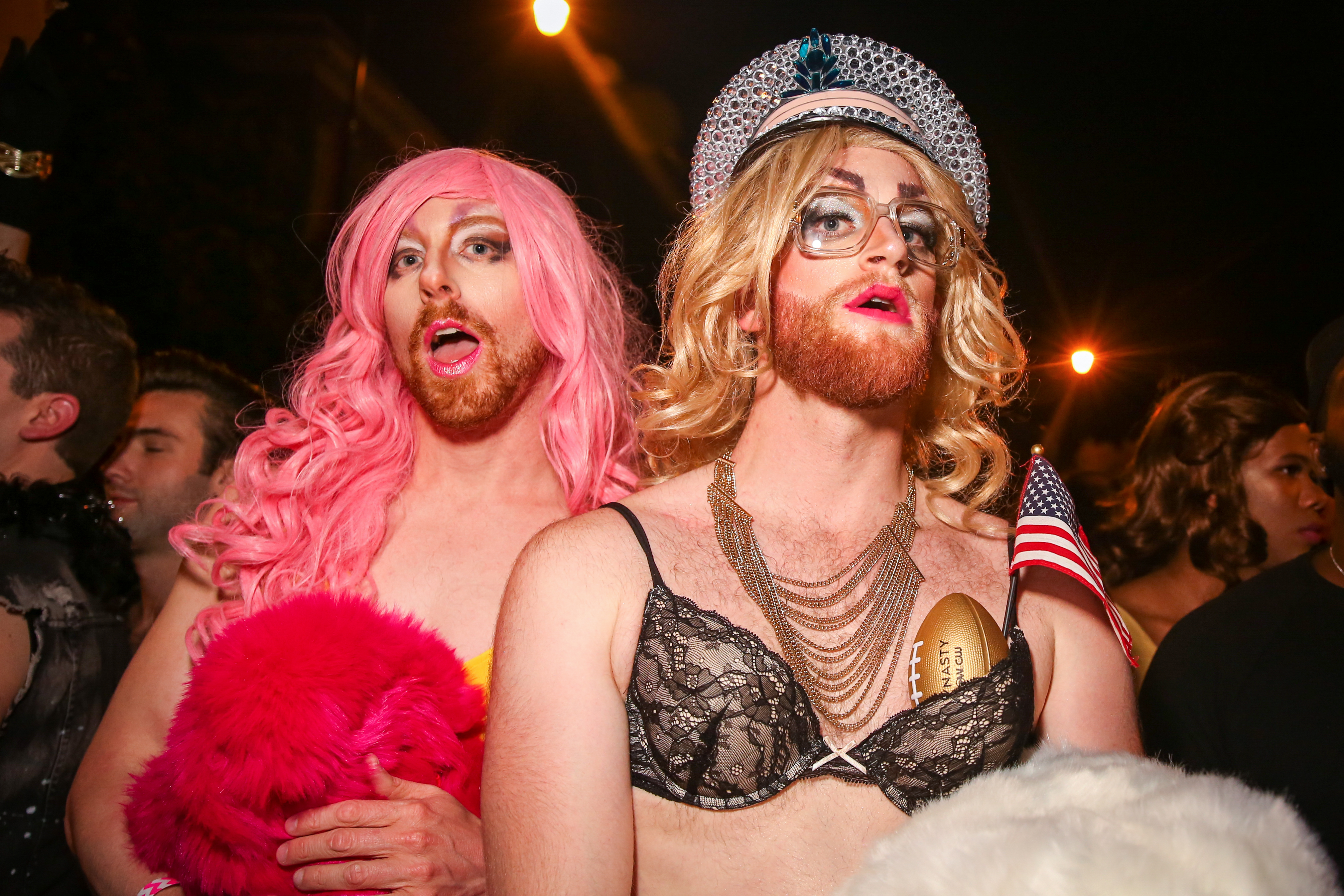 October, 2017. Competitors pose after the annual 17th Street High Heel Race.{&amp;nbsp;} (Amanda Andrade-Rhoades/DC Refined)<p></p>