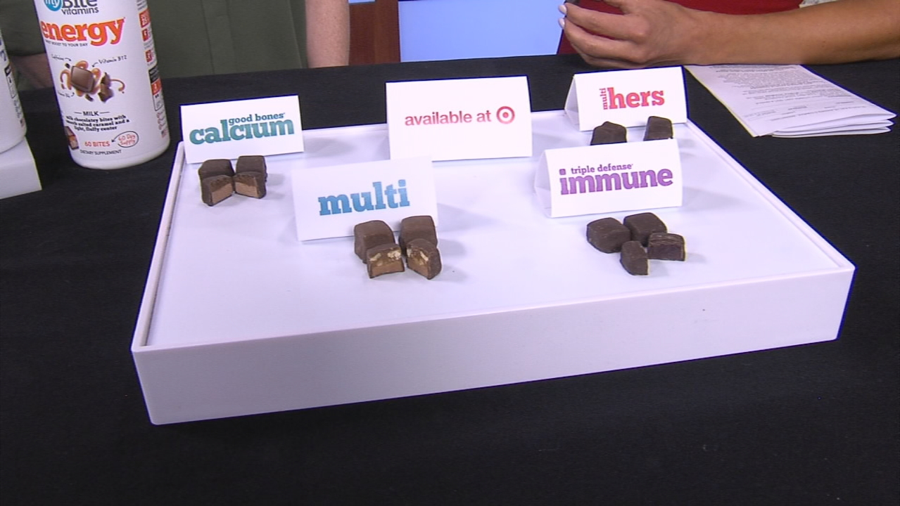 These tasty, snicker-looking, chocolate vitamins will have you eager to take your morning supplement. (SBG Photo)