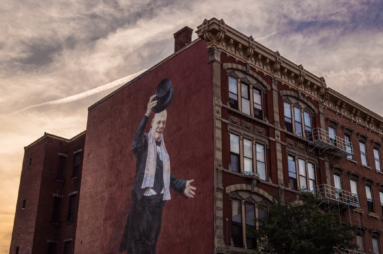 The city meets the sky at 1109 Vine Street in Over-the-Rhine / Image: Phil Armstrong, Cincinnati Refined