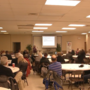 Event discusses fair income tax with community