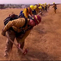 Oregon National Guard wildfire training