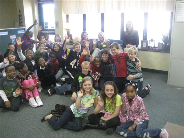 11/9/10...Bookman Road Elementary Fourth Graders
